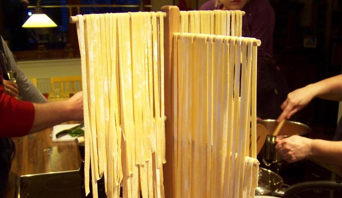 Norditalienische Pastaküche - Pasta selbst gemacht