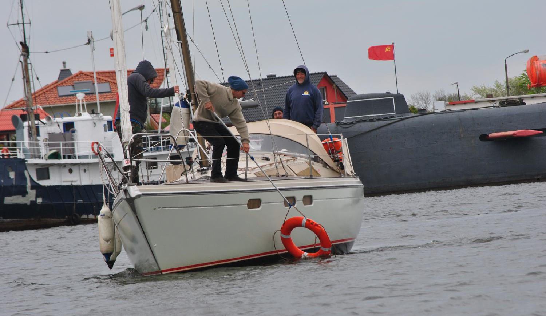 Yachtsegel-Manöver-Training für Umsteiger auf Usedom Lütow