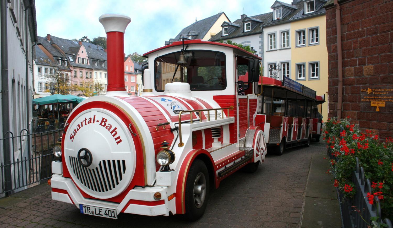 Saartalbahn-Rundfahrt in Saarburg Saarburg