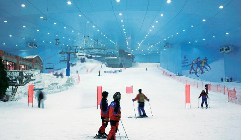 Tageskarte Skipark in Dubai