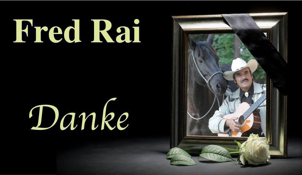 A Tribute to Fred Rai Dasing