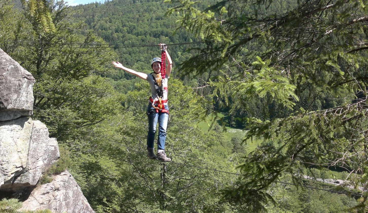 Klettersteig Schwarzwald : Klettersteigkurs für anfänger im schwarwald günstig buchen bei