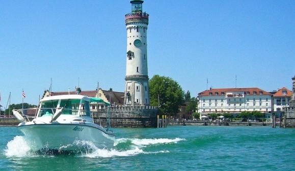 Rundfahrt mit dem Seetaxi auf dem Bodensee in Lindau