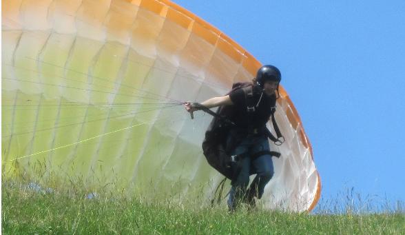 Gleitschirmfliegen im Allgäu - Grundkurs am Forggensee in Halblech