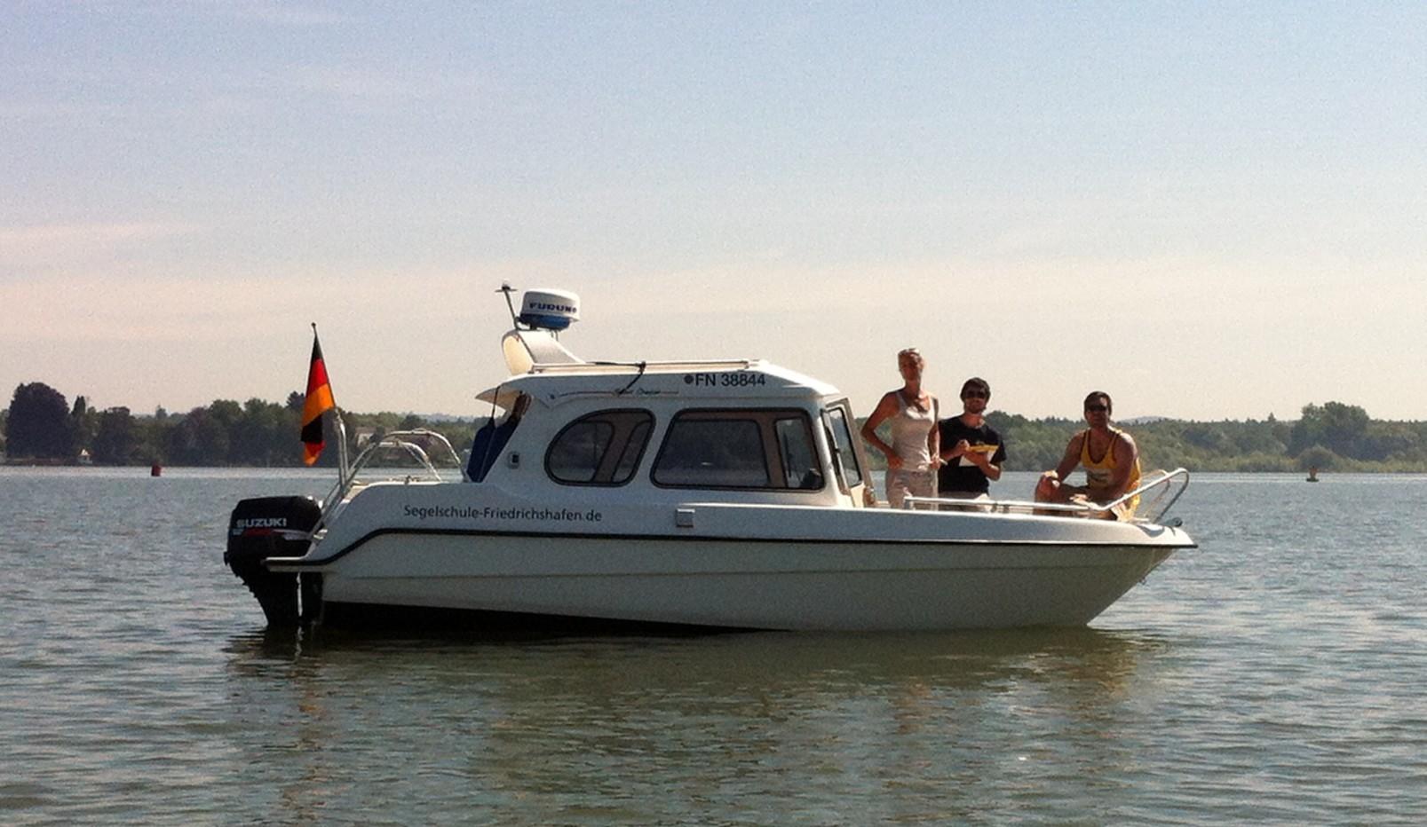 Sportbootführerschein Binnen in Friedrichshafen