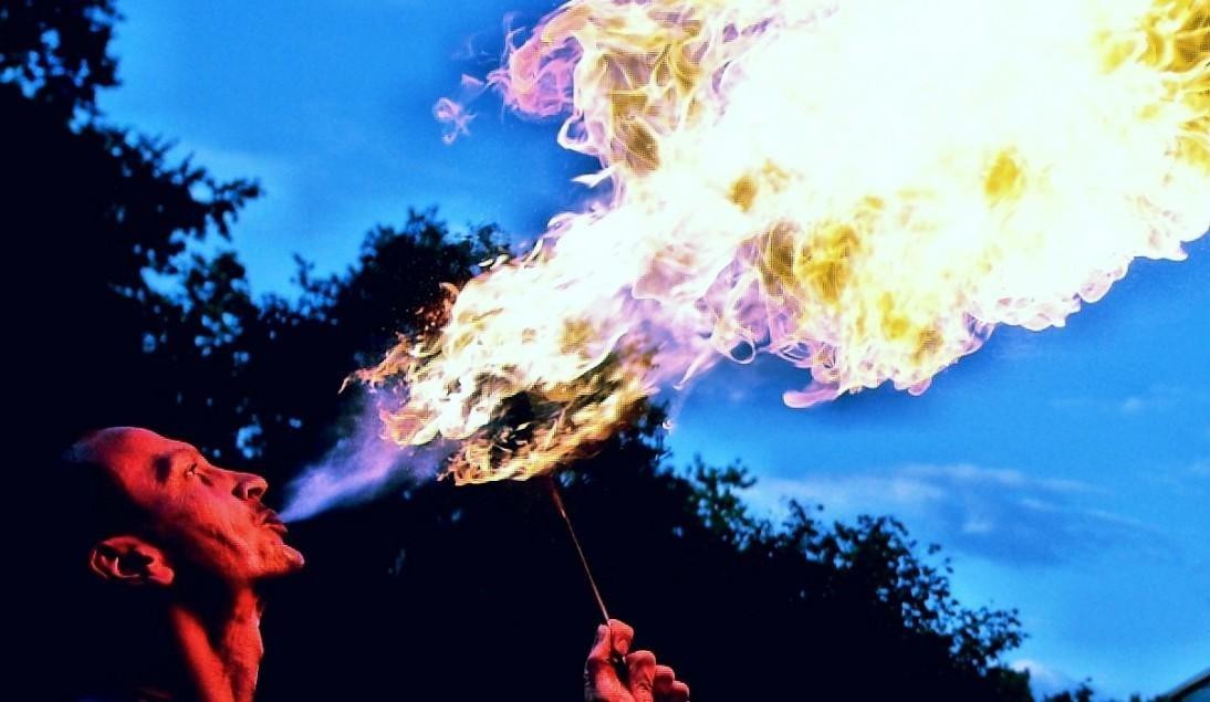 Feuerspucken lernen in Heilbronn