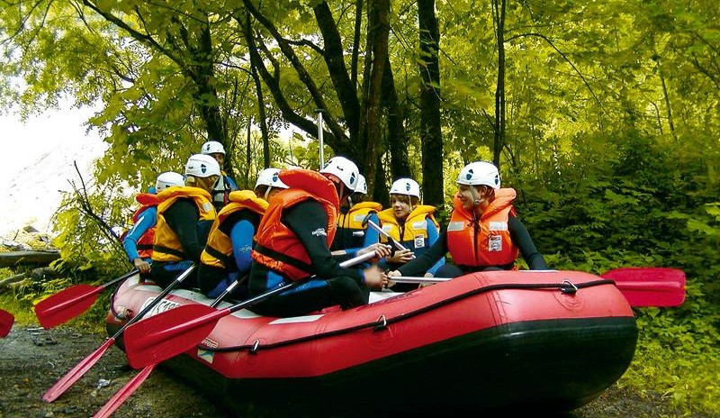 Rafting-Family-Fun in Flachau