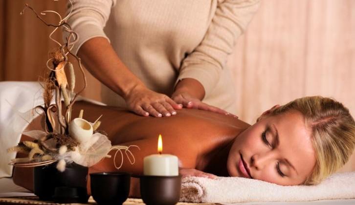 Rücken-Massage mit Wärmeanwendung in Wetzlar