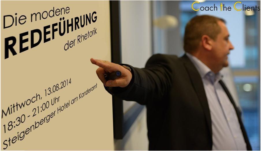 Rhetorik-Seminar in Berlin