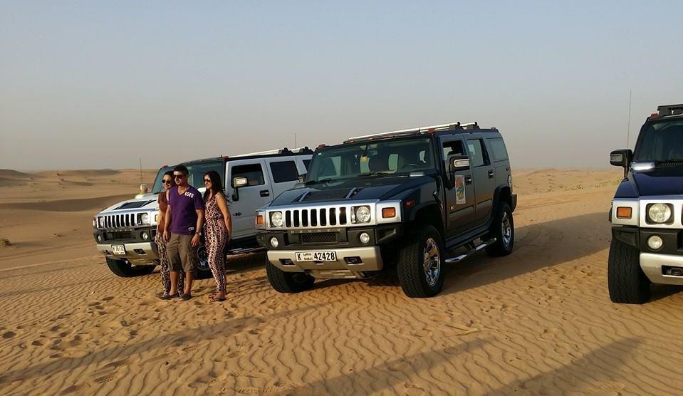 Safari in Dubai - FJ Cruiser selber fahren Dubai