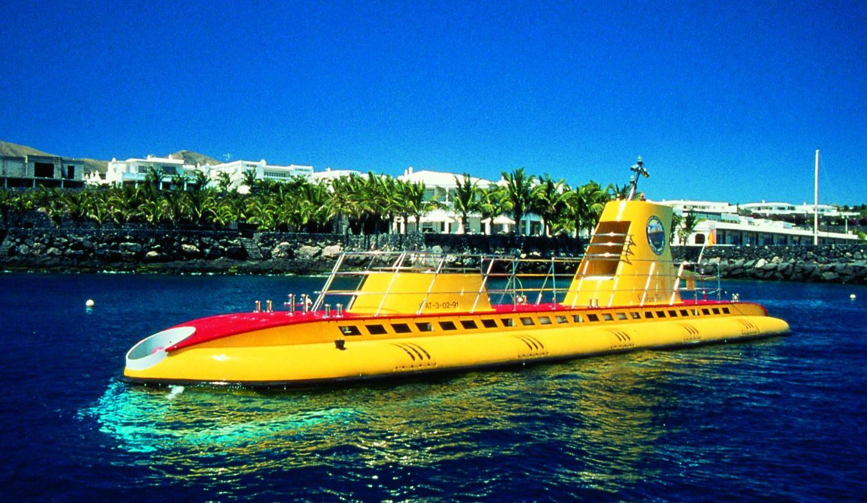 U-Boot-Abenteuer auf Teneriffa Amarilla Golf