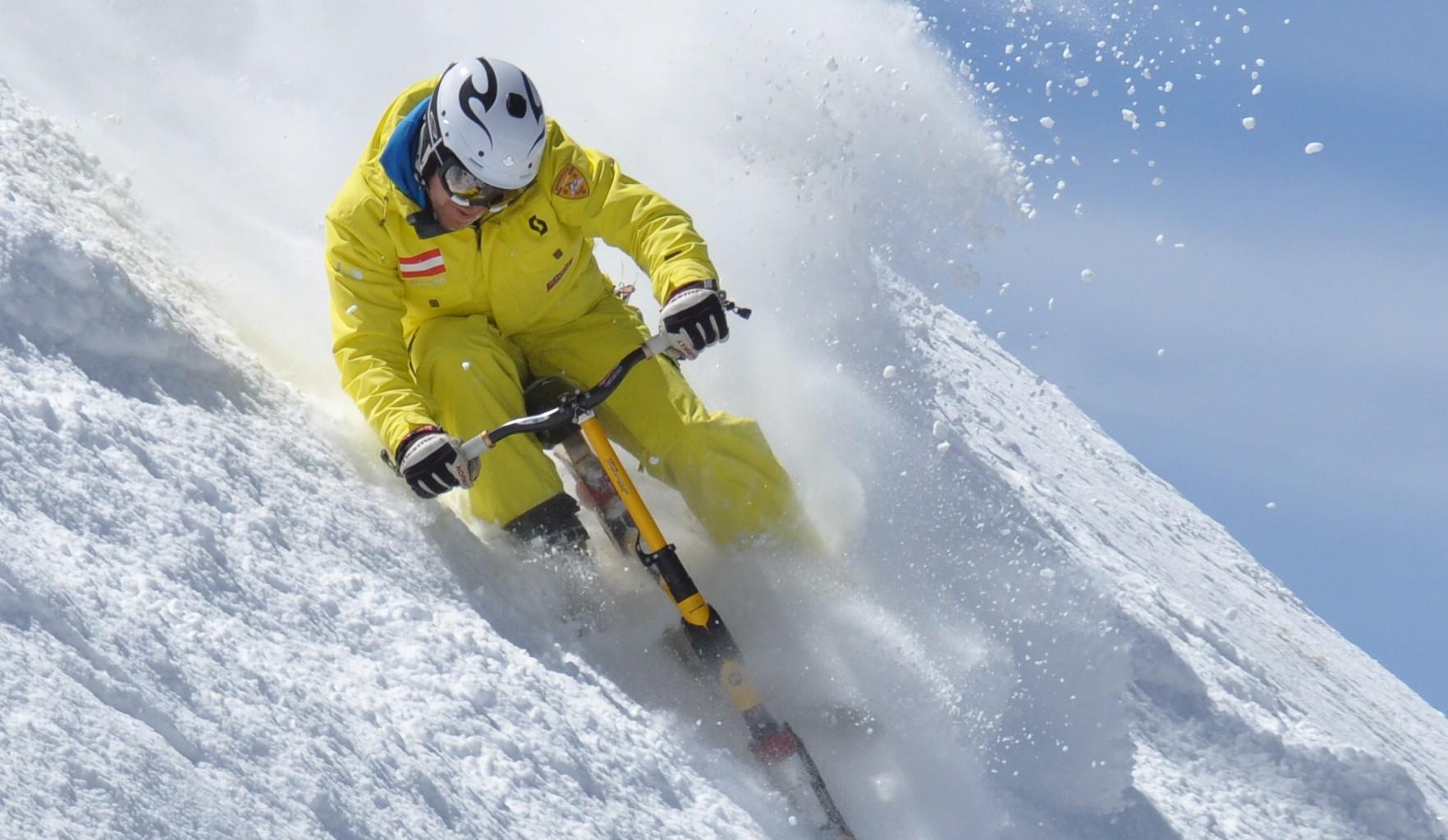 Snow biken