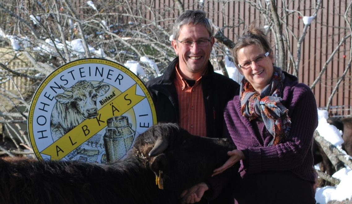 Büffel und Käsebesichtigung der Hohensteiner Hofkäserei