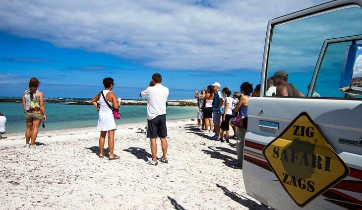 Safari-Ausflug auf Fuerteventura - Jeep und Strand Costa Calma