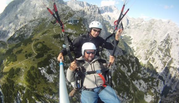Gleitschirm-Tandemflug in Garmisch in Garmisch-Partenkirchen