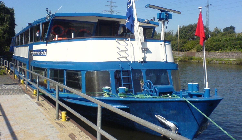Kaffee und Kuchen Schifffahrt auf dem Rhein-Herne-Kanal in Recklinghausen