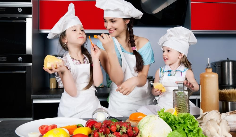 Familien-Kochkurs in Berlin (1 Erwachsener und 1 Kind)