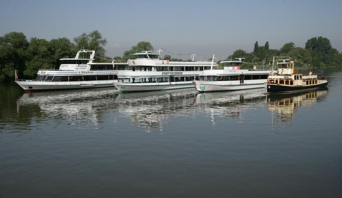 Schifffahrt auf Rhein und Mosel ab Koblenz Vallendar