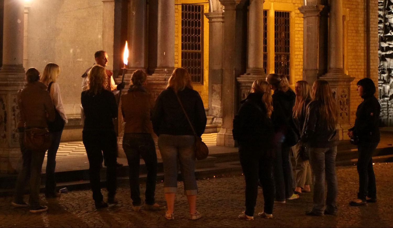 Private Nachtwächter-Fackel-Spuktour in Köln