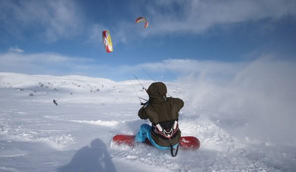 Snow kiten