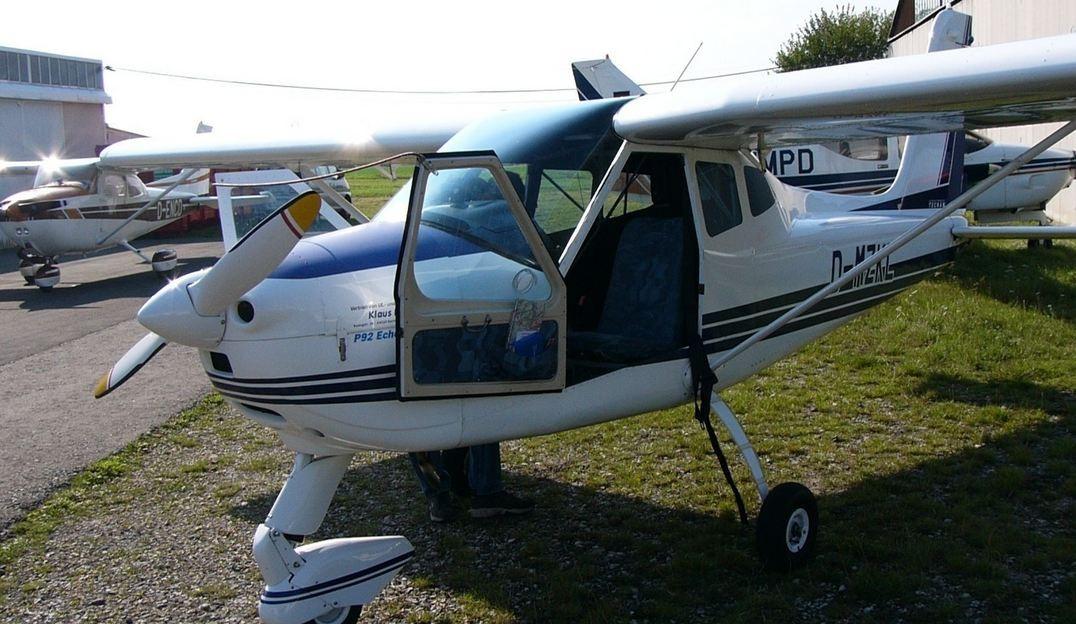 Schnupperflug in einem Kleinflugzeug über Dortmund in Hamm