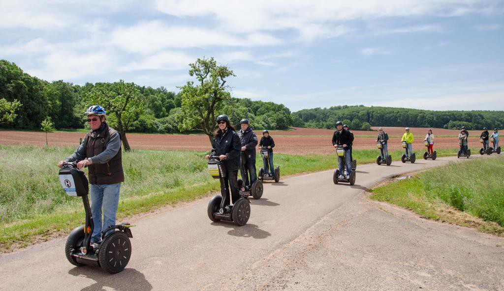 Segway-Tour in Ronneburg
