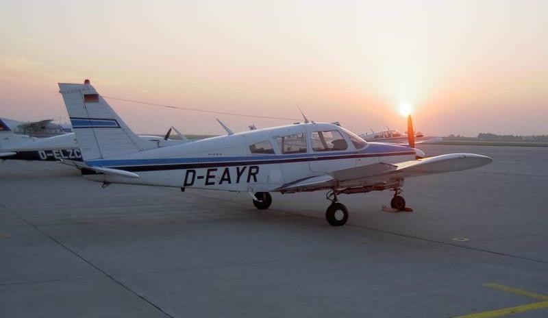 Schnupperflug über Sachsen - Pilot für einen Tag