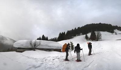 Schneeschuhwandern / Schneeschuhkurse