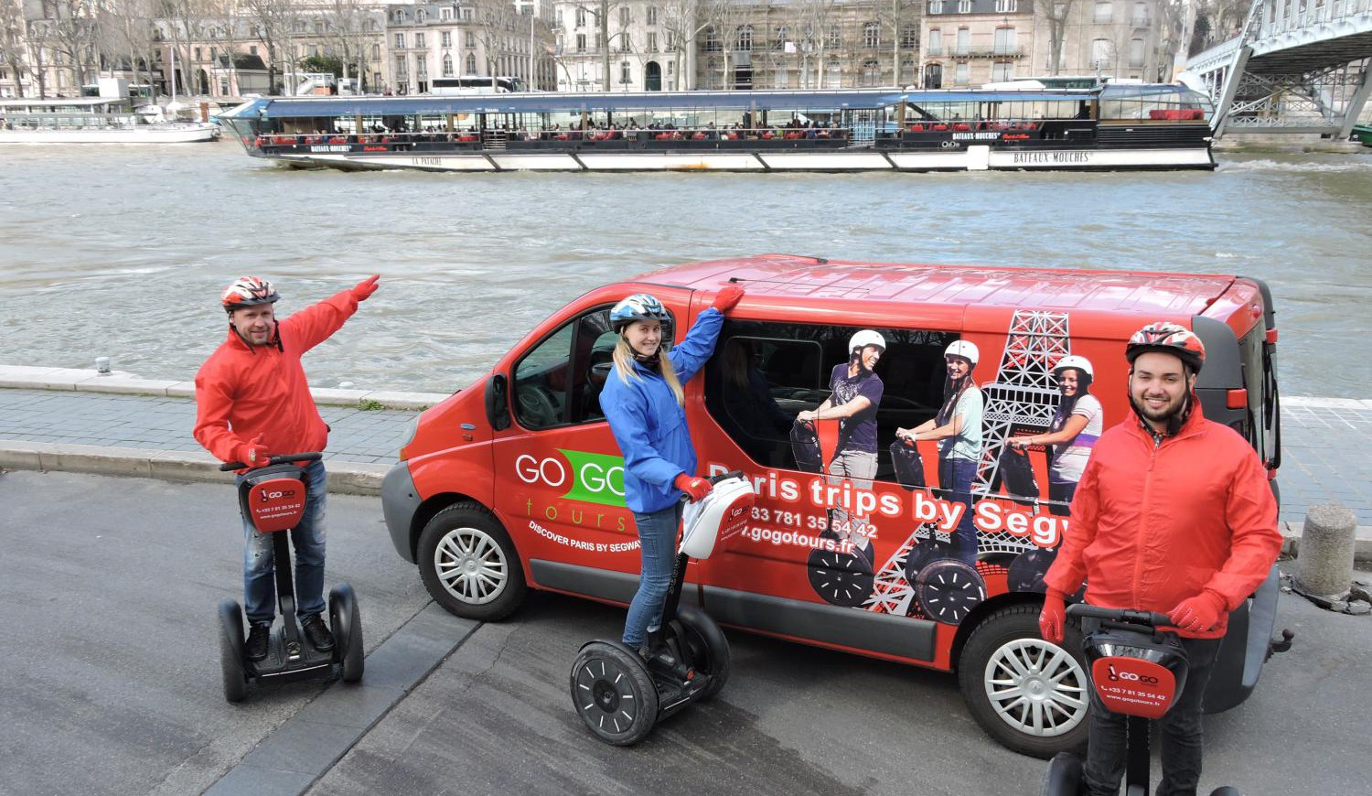 Segway-Tour in Paris inkl. Seine-Bootsfahrt (ab 2 Pers.)