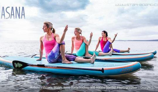 SUP Yoga Shape mit Nina Winkler, Starnberg