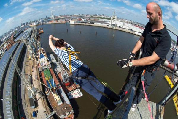 Bungee Jumping in Hamburg