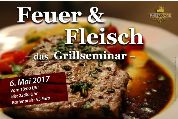 Feuer und Fleisch- Grillseminar 2 in Senftenberg