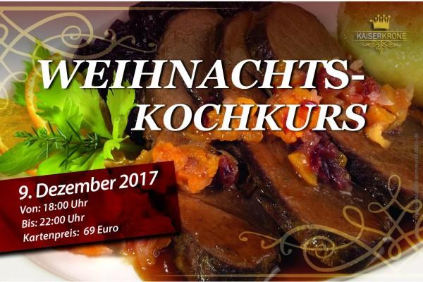 Weihnachts-Kochkurs in Senftenberg