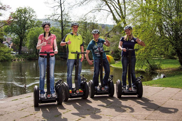 Segway-Tour ab Mosbach -After-Work-Tour (ab 2 Pers.)