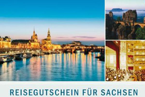 Reisegutschein für Sachsen