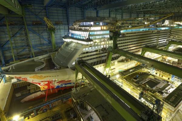Öffentliche Besichtigung der Meyer Werft in Papenburg