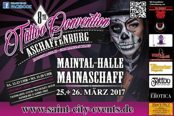 8. Tattoo Convention Aschaffenburg 2017