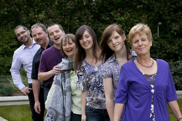 FAMILIEN-Fotoshooting in Göppingen