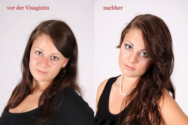MAKE-UP zu einem Fotoshooting in Göppingen