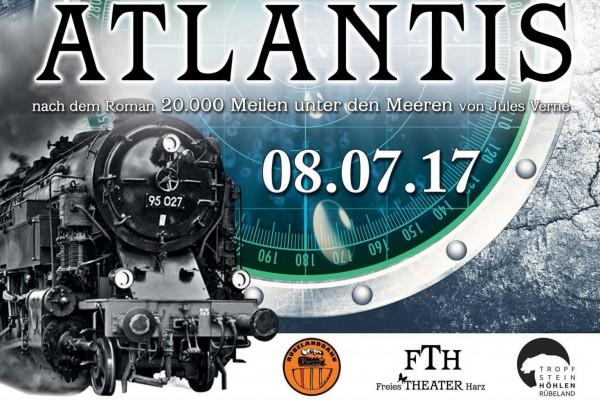 Mit Volldampf nach Atlantis in Blankenburg