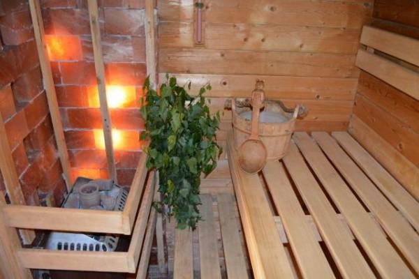 Sauna und Meer in Stein