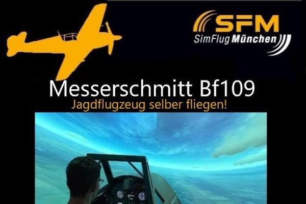 Flug Messerschmitt Bf-109 60 Minuten in Haar