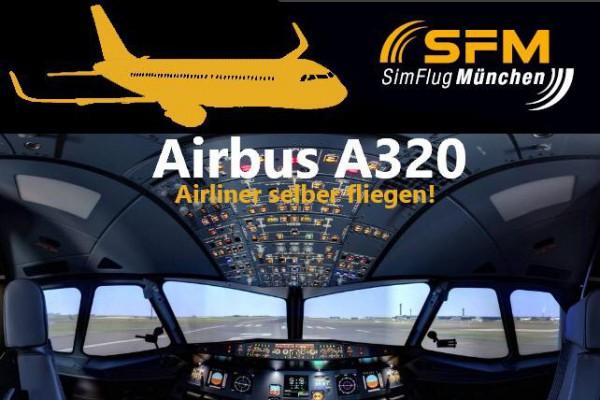 Flug Airbus - A320 60 Minuten in Haar