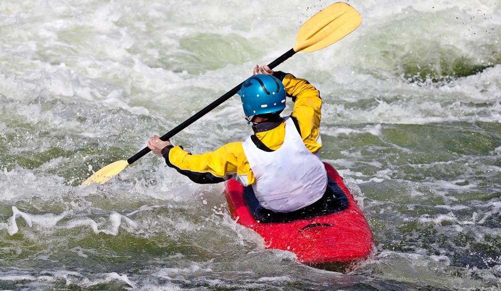 Kayak fahren
