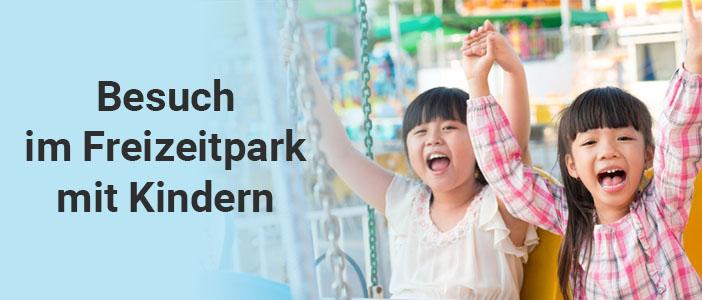 Freizeitpark Besuch mit Kindern