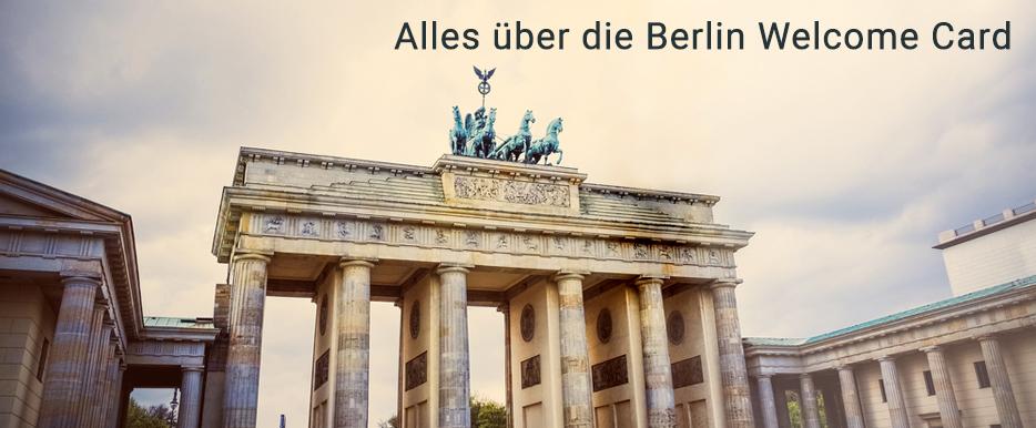 Sparen mit der Berlin WelcomeCard