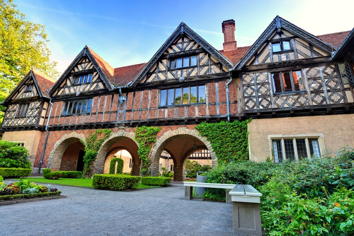 Cecilienhof Palace in Potsdam