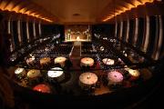 Abendessen in einem Theater in München