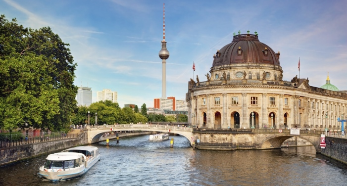 Museum Island in Berlin Central Mitte