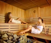 Saunagang in einer Therme in Bielefeld